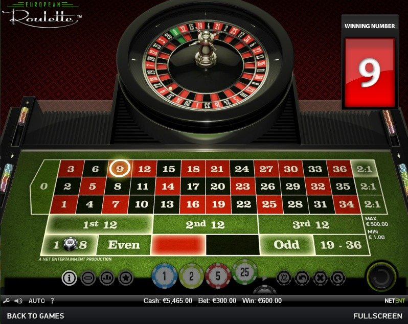 Traditionelle roulette - 766338