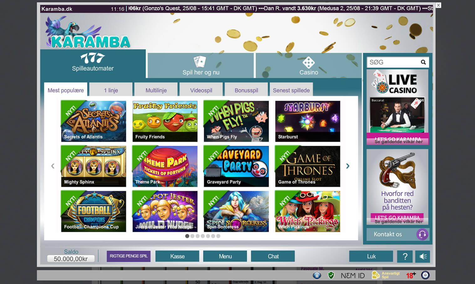 Casinoets fordel spillemaskiner-828947