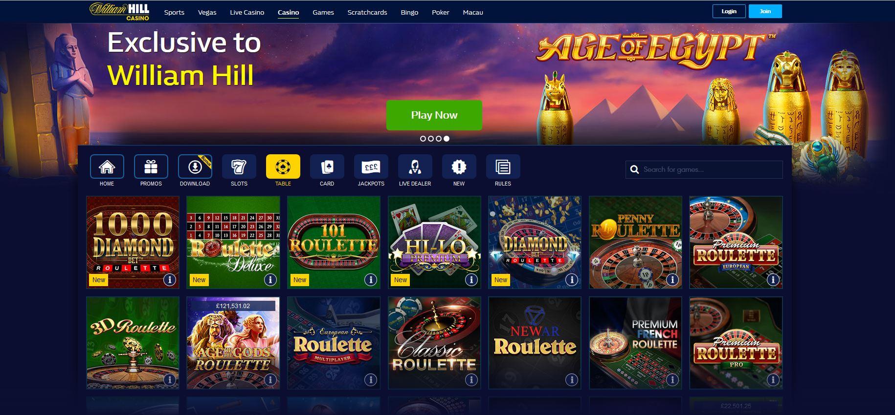 Foretrukne casino Jagten