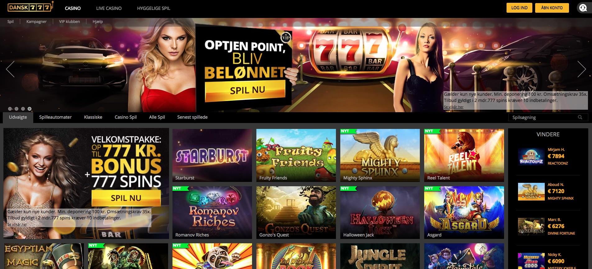 Dansk casinoer live-263310