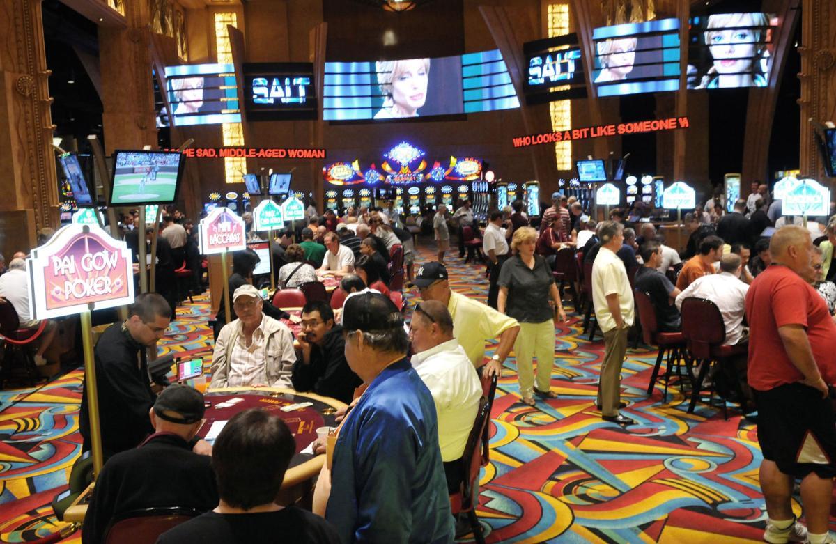 På casino afslutning